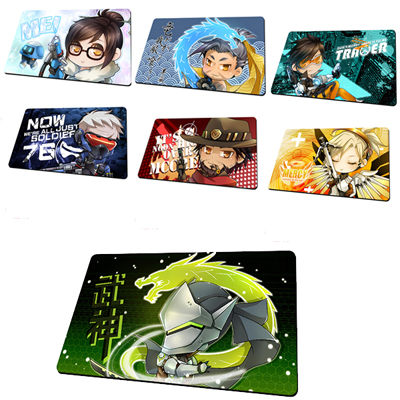 Overwatch Cartoon Version Thicker Competitive Gaming Mouse Pad (A variety of styles)