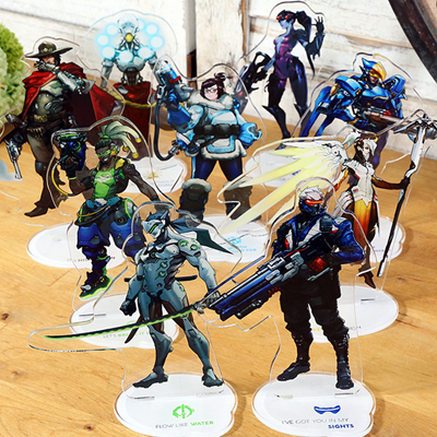 Overwatch Cartoon Version Acrylic Decoration (A variety of styles)