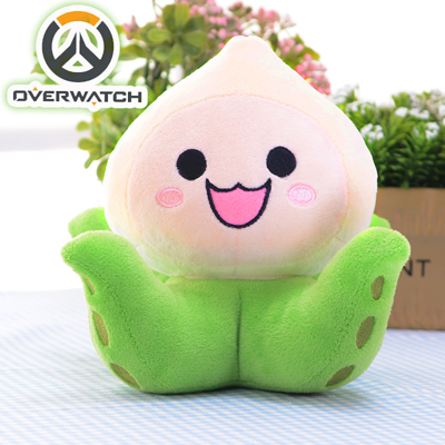 Overwatch Cute Plush Toy Hold Pillow Ow Accessories 18CM*18CM