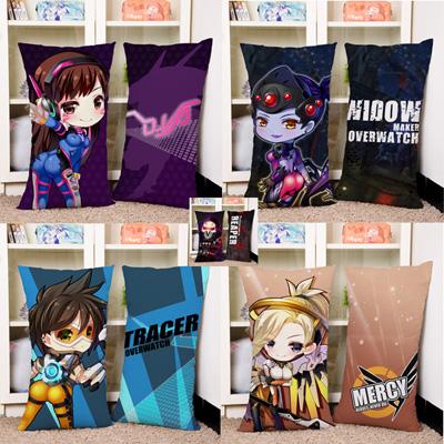 Ow Overwatch Cartoon Version Cushion Cover Dakimakura Hold Pillow