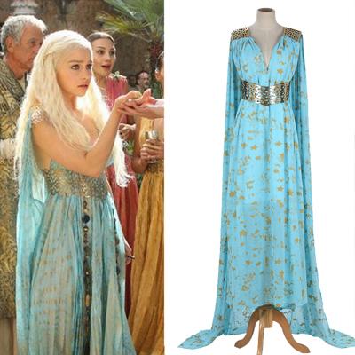 Game of Thrones Daenerys Qarth Cosplay Costume