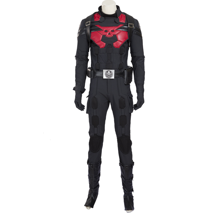 Captain America Steve Rodgers Hydra Cosplay Costume