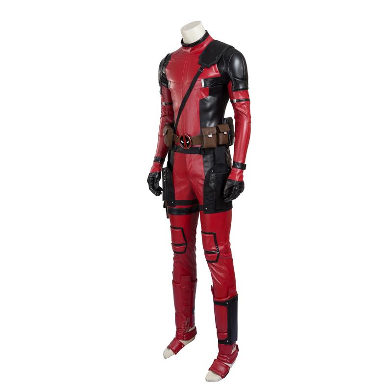 Marvel Comics Deadpool Cosplay Costume Deluxe Edition