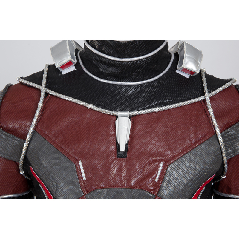 Marvel Comics Ant-Man Cosplay Costume Deluxe Edition(Contains helmet)