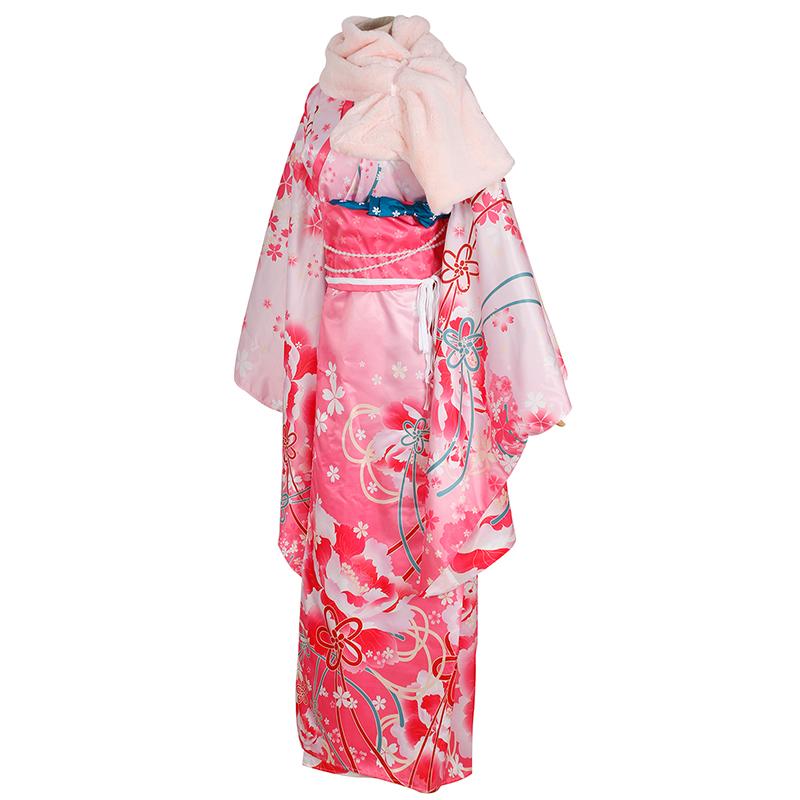 Love Live!School Idol Project Nico Yazawa Kimono Cosplay Costume