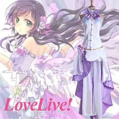 Love Live! Nozomi Tojo White Valentine's Day Cosplay Costume