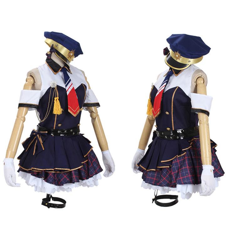 Love Live! Kotori Minami Police Woman Cosplay Costume