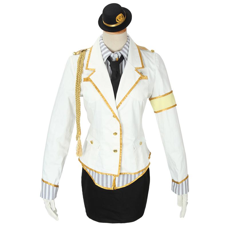 Love Live! Minami Kotori White Police Woman Cosplay Costume