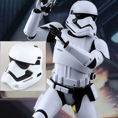 Movie Star Wars Helmet Movie Accessories(White )