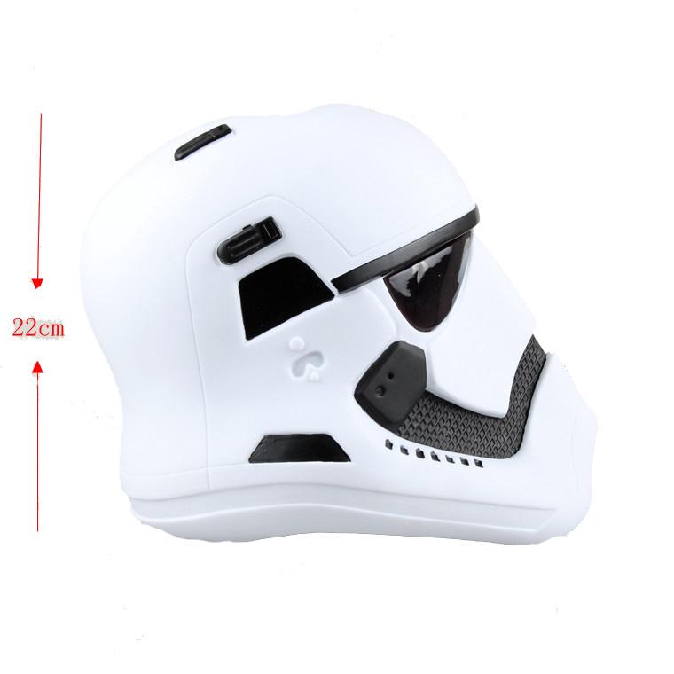 Movie Star Wars Helmet Movie Accessories(White )