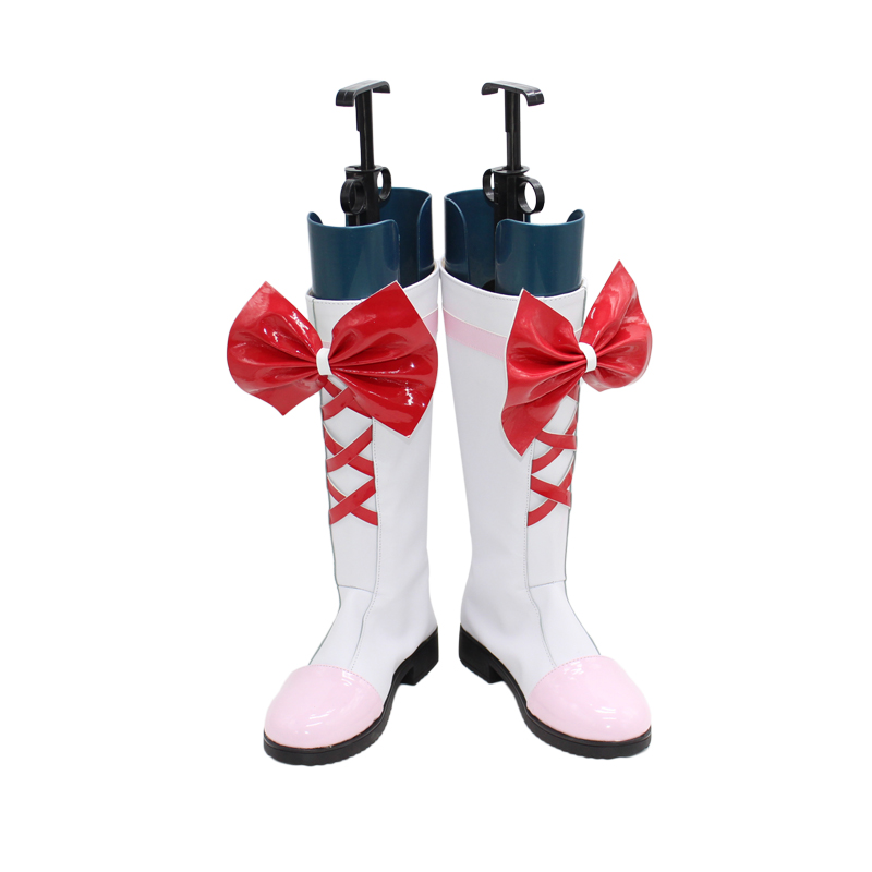 Smile Precure! Pretty Cure Cure Sunshine Pink Cosplay Boots Shoes