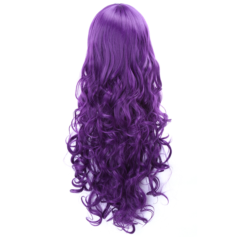 Love Live Nozomi Tojo Long Wavy Dark Purple Heat Resistant Synthetic100CM Wig