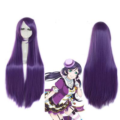 Love Live!Nozomi Tojo Halloween Purple Cosplay Wig