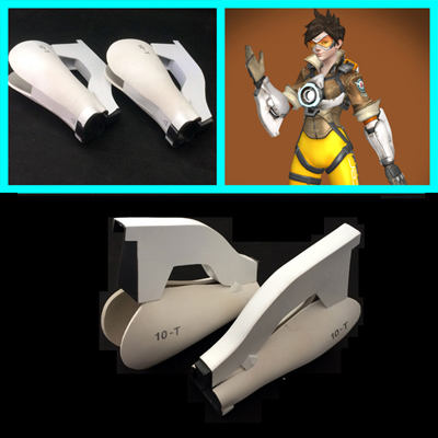 Overwatch Cosplay Ow Armband Armor Prop Halloween Tilbehør