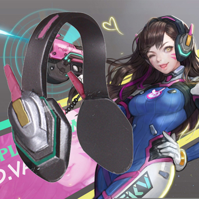 Overwatch D.va Cosplay Headset Overwatch cosplay Atrezzo España