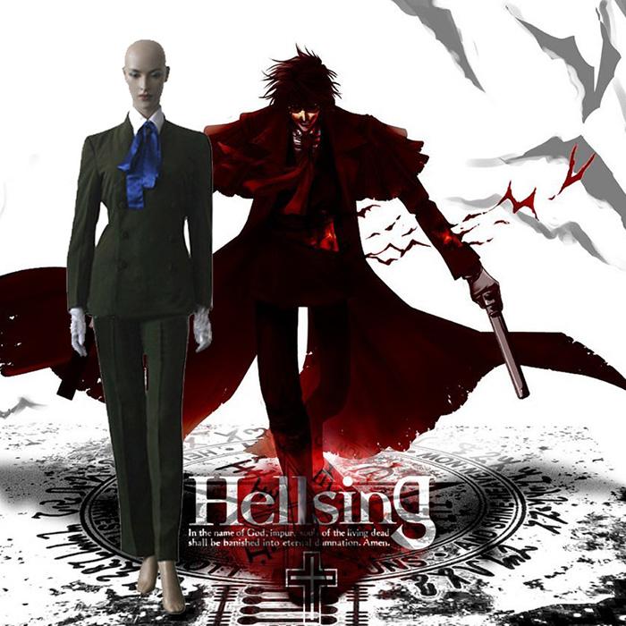Hellsing Itguura Cosplay Outfits Clothing