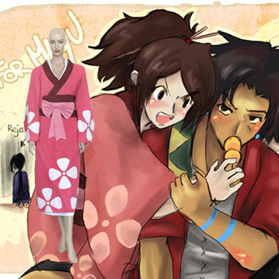 Disfraces Samurai Champloo Fuu Cosplay Spain