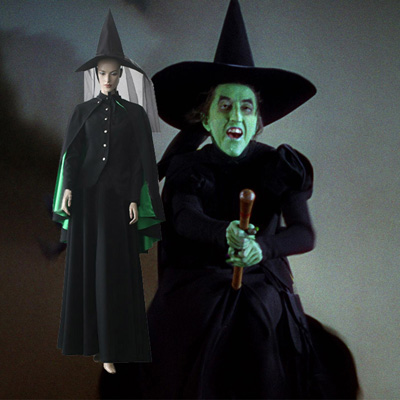 The Wicked Witch of the West Cosplay Outfits