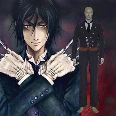 Black Butler Sebastian Michaelis Cosplay Outfits