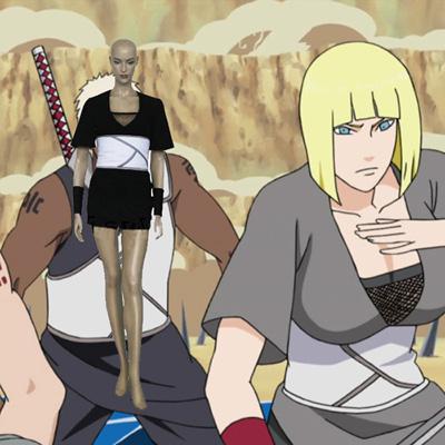 Naruto Team Cloud Samui Cosplay Outfits