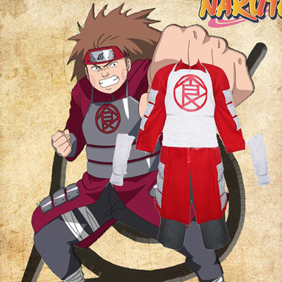 Naruto Shippuden Akimichi Chouji Cosplay Outfits