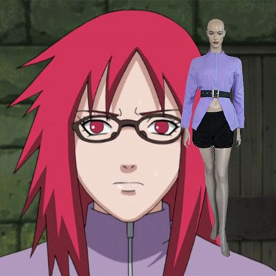 Naruto Karin Cosplay Outfits Clothing