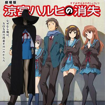 Haruhi Suzumiya Nagato Yuki Cosplay Outfits