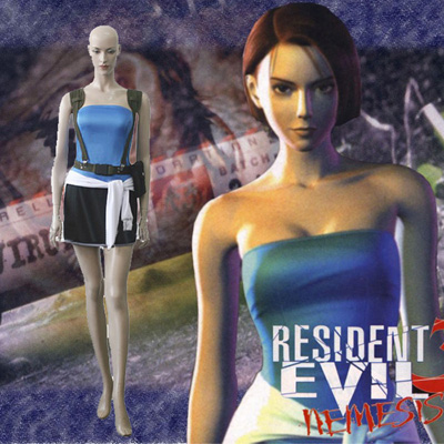Resident Evil 3 Jill Valentine Cosplay Outfits