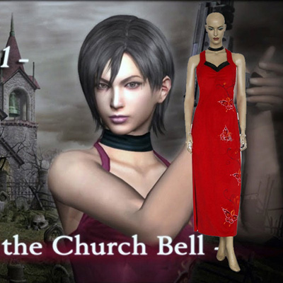 Resident Evil 4 Ada Wong Cosplay Outfits