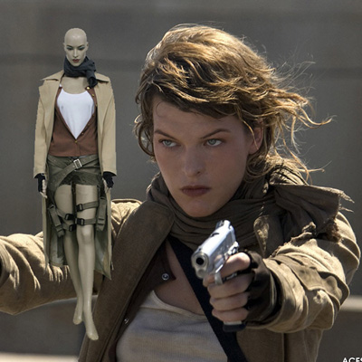 Resident Evil Extinction Alice Cosplay Outfits