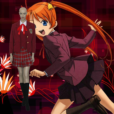 Negima! Magister Negi Magi Asuna Kagurazaka Cosplay Outfits