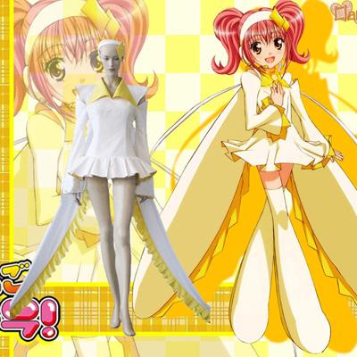 Shugo Chara! Amu Hinamori Amulet Diamond Cosplay Outfits