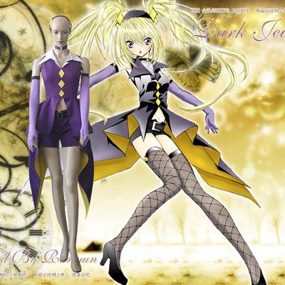Shugo Chara! Dark Jewel Cosplay Outfits