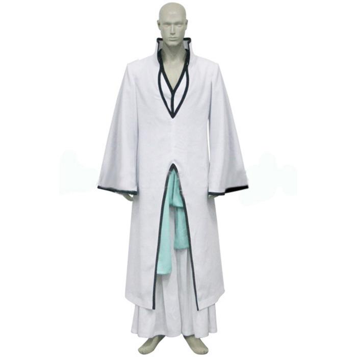 Bleach Ichimaru Gin Arrancar Cosplay Outfits