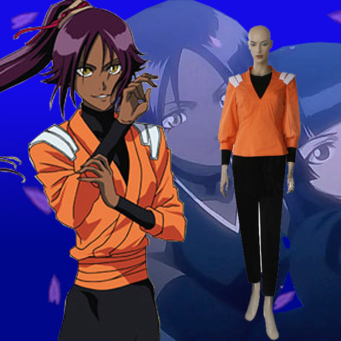 Bleach Yoruichi Shihouin Cosplay Outfits