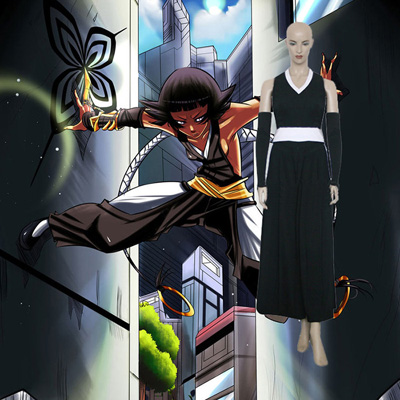 Bleach Soi Fong Fighting Cosplay Outfits