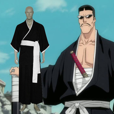 Bleach 7th Division Lieutenant Iba Tetsuzaemon Cosplay Outfits