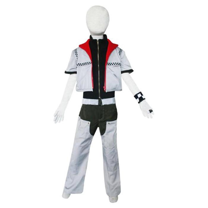Kingdom Hearts 2 Roxas Kids Cosplay Outfits