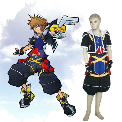 Disfraces Kingdom Hearts 2 Sora Kids Cosplay Spain