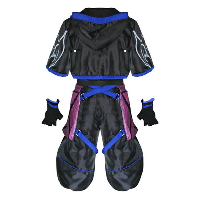 Kingdom Hearts 2 Anti Sora Cosplay Outfits