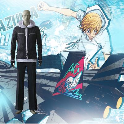 Air Gear Kazuma Mikura Cosplay Outfits