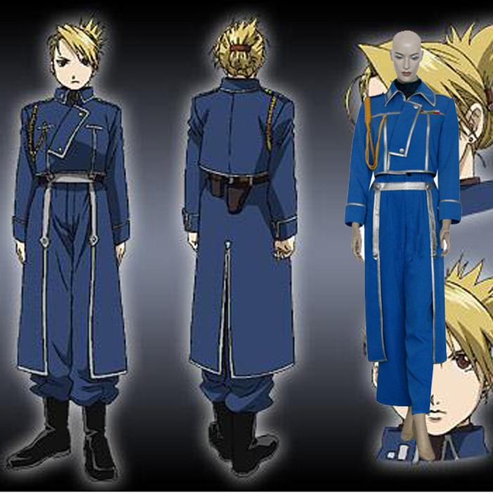 Fullmetal Alchemist Riza Hawkeye Cosplay Outfits