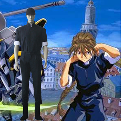 Mobile Suit Gundam Seed Dio Maxwell Cosplay Outfits