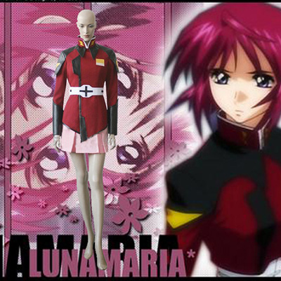 Mobile Suit Gundam Seed Lunamaria Hawke Cosplay Outfits