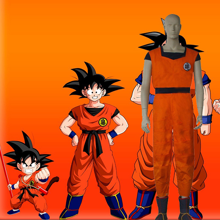 Dragon Ball Z Monkey King Cosplay Outfits