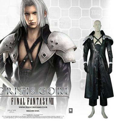 Deluxe Final Fantasy VII 7 Sephiroth Cosplay Outfits