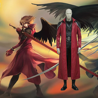 Final Fantasy VII 7 Genesis Rhapsodos Cosplay Outfits