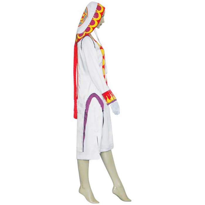 Final Fantasy XII 12 Yuna White Mage Cosplay Outfits