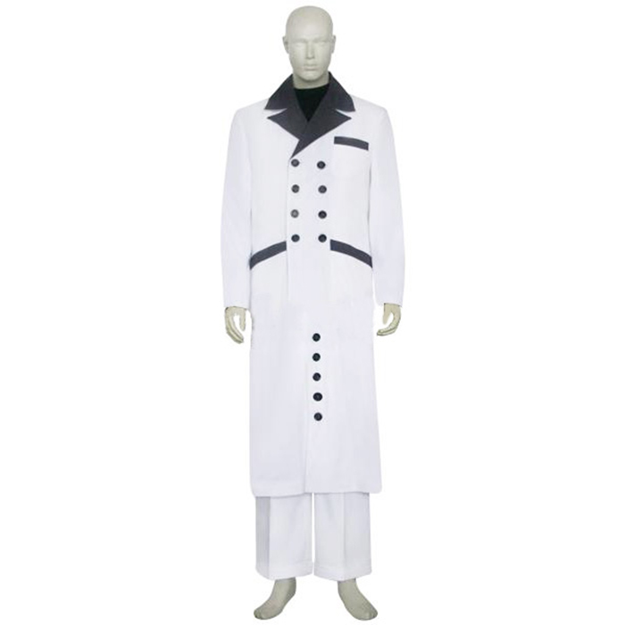Final Fantasy VII 7 Rufus Shinra Cosplay Outfits