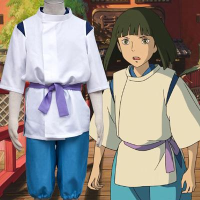 Anime Spirited Away Haku Cosplay Halloween Costume